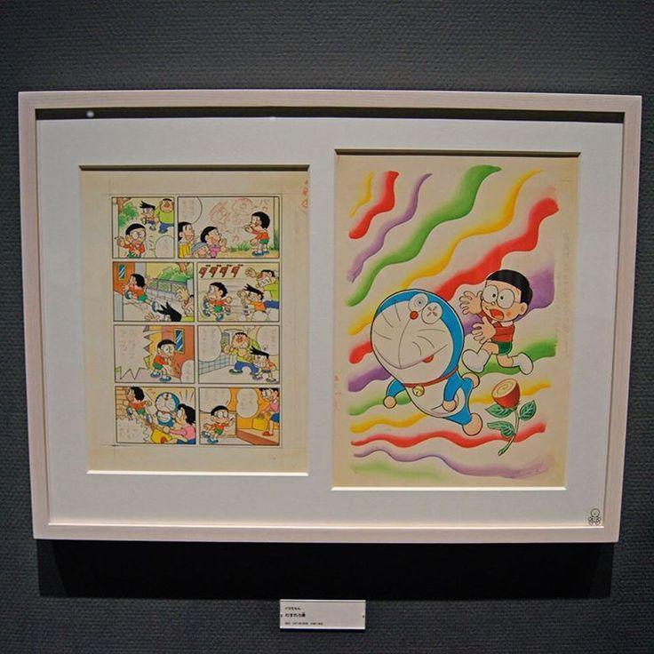 ミュージアムのお花見名所「きこりの泉」の桜も少しずつ開花し始めました♪春色のカラフルな原画といっしょに、季節の変化を楽しんでくださいね。  #FUJIKOMUSEUM #藤子ミュージアム #藤子f不二雄ミュージアム #Doraemon #ドラえもん