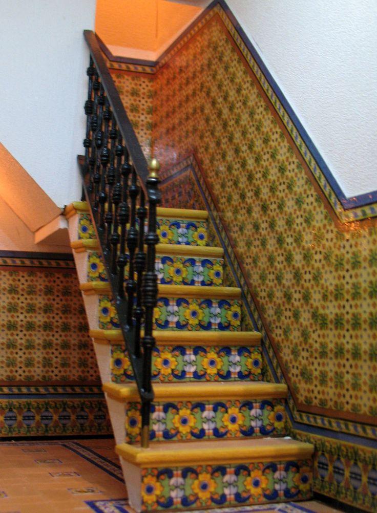 Casa popular Andaluza escalera