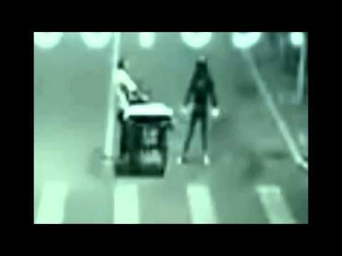 Angel saves man from near death! Caught on video - YouTube   *have no clue if this is a hoax or not, but I straight up believe in Angels & Demons and do not for a second believe the Bible is wrong.