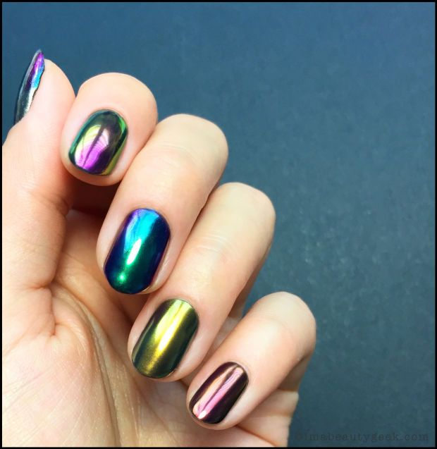 Mirror Chrome Nails Are A Thing Right Now This Is Uv Gel