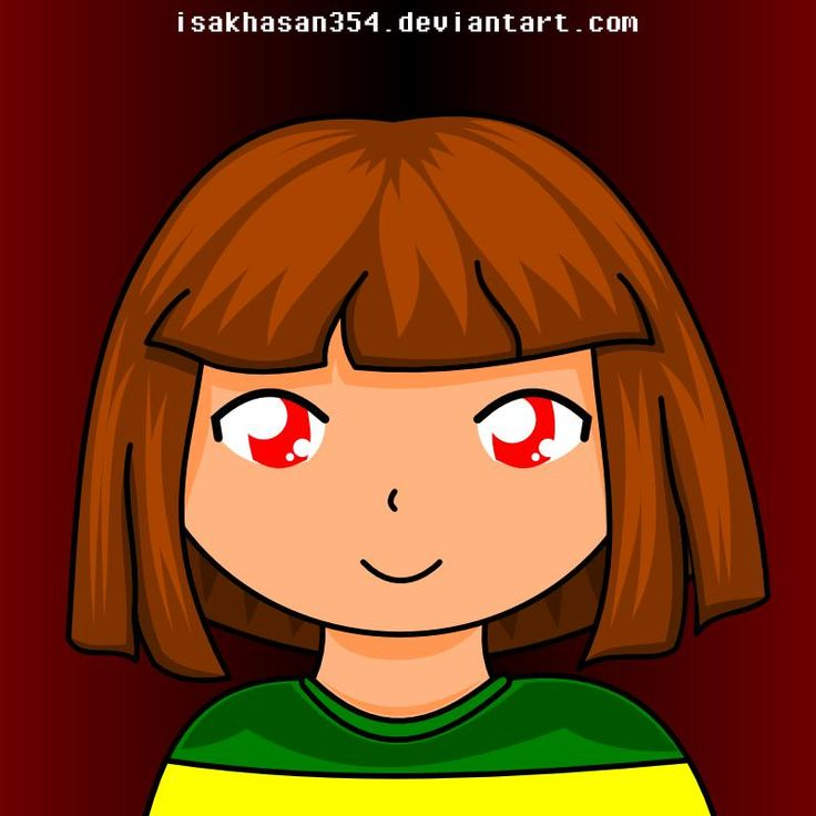 Chara is smiling