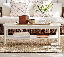 Black End Tables, Black Living Room Furniture & Chloe | Pottery Barn