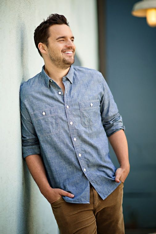 Jake Johnson returns as Nick Miller with a giant smile. Season 4 of New Girl premieres Tuesday, September 16! Beauty!!!!