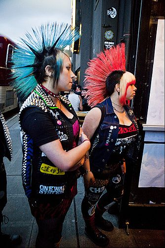 You and me Punk Rock Girl... by Crickontour, via Flickr