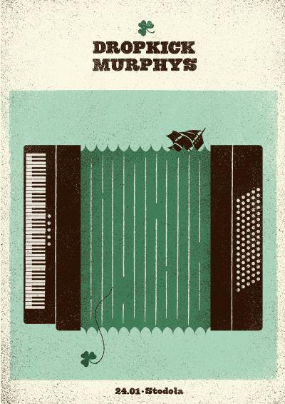 Dropkick Murphys: Band Art, Music Lov, Band Poster, Art Poster, Graphics Design, Gig Poster, Music Art, David Riga, Music Band