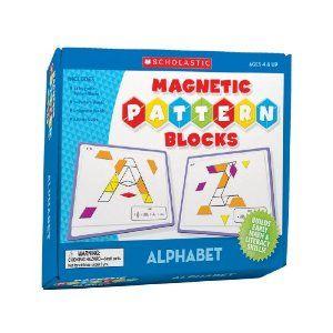 Magnetic Pattern Blocks: Alphabet: Amazon.ca: Scholastic Inc: Books 16