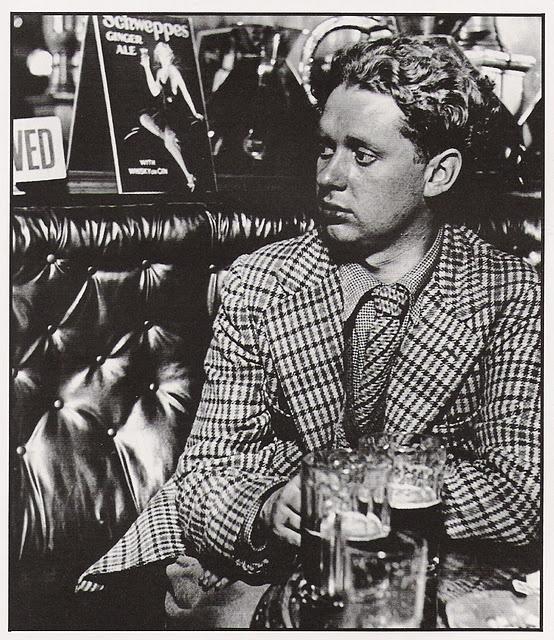 Dylan Thomas, 1941 by Bill Brandt