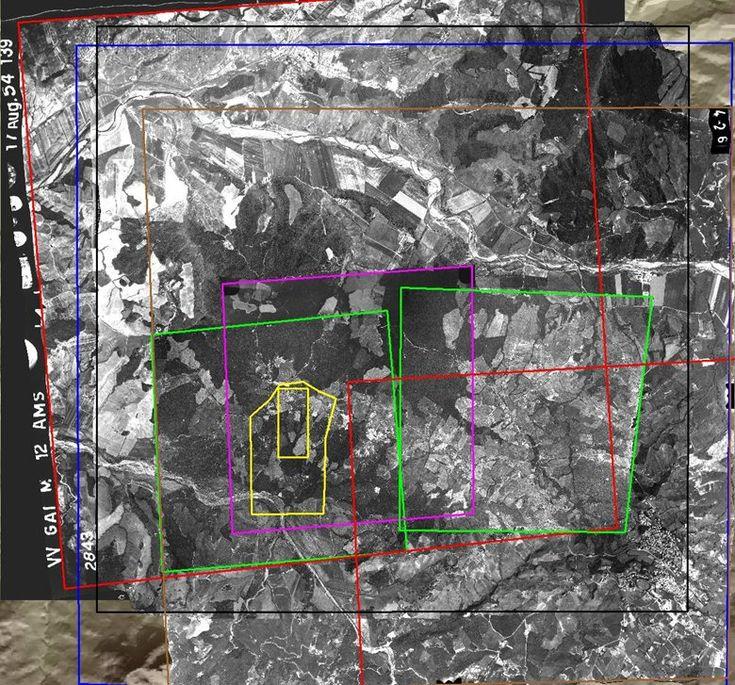 DTM e Ortofoto multitemporali per analisi dei movimenti di una frana nel comune di Pomarance, Pomarance, 2005 - Alberto Antinori