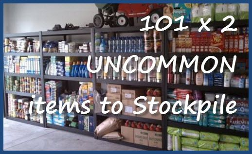 Perhaps you've looked through lists of non-food items to stockpile for times of need. You may have even stored a ton of things like toilet paper, salt, vinegar, warm clothing and such. Now is a goo...