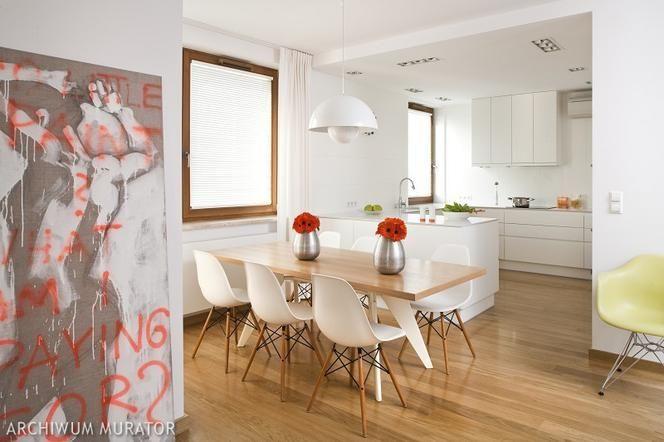 Jadalnia Jak Urzadzic 26 Aranzacji I Projektow Jadalni Z Kuchnia Z Salonem W Wykuszu Home Kitchens Home Decor Kitchen Design