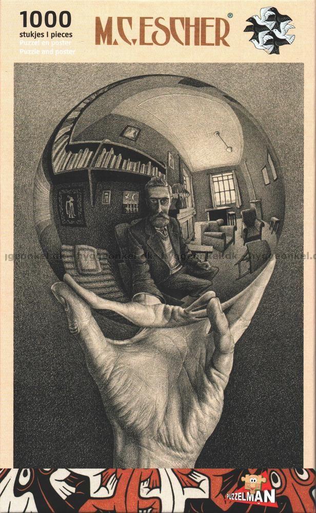 Escher: Boll, 1000 bitar by Boardgamer