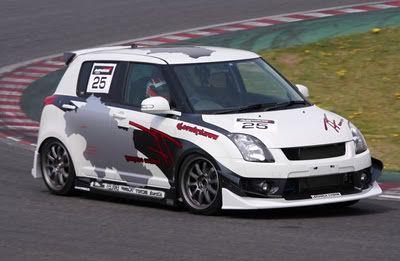 Try Force (Front bumper full Scrit, Sun Line rear bumper)