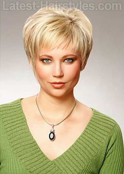 Womens Short Pixie Haircut