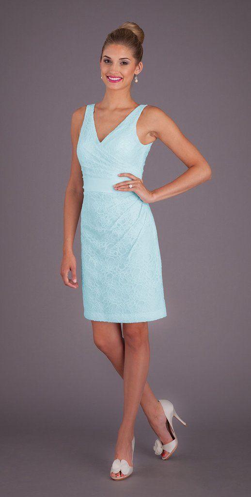126 best Lace Bridesmaid Dresses images on Pinterest   Blue lace ...