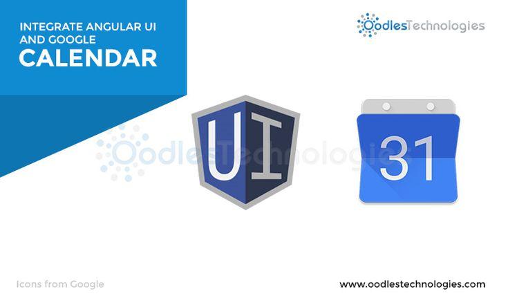 Read the link below to find out how to Integrate #Angular #UI #Calendar with #GoogleCalendar  #javascript #reactjs #webdevelopment #webdeveloper #angularjs #webdesign #webdesigner #html #html5 #bootstrap #application #app #development #programming #css #css3 #js #jquery #php #nodejs #ruby #java #laravel #mongodb #nosql #mysql #postgresql #software #frontend #backend