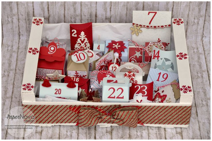 Advent Calendar - Calendari Avvento - PaperNova Design