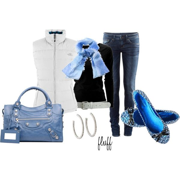 """got the blues""Blues Thy, Fashion Statement, Jeans Sets, Wearable Thread, Polyvore, Fluffof5, Style Clothing, It 16 Shoes, Style Jeans Denim"