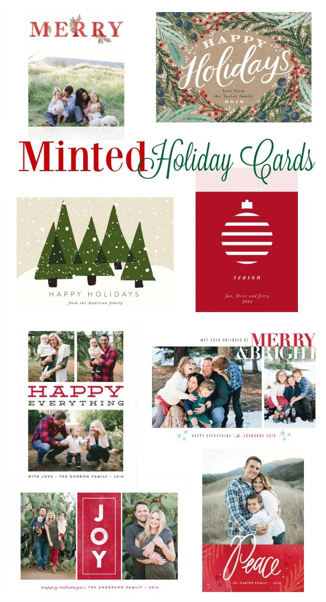 Here are some of my top Minted Christmas Cards picks. Use the code HOLIDAY15 to get a 15% discount on yours! Offer expires 11/21. Personalize your card now.