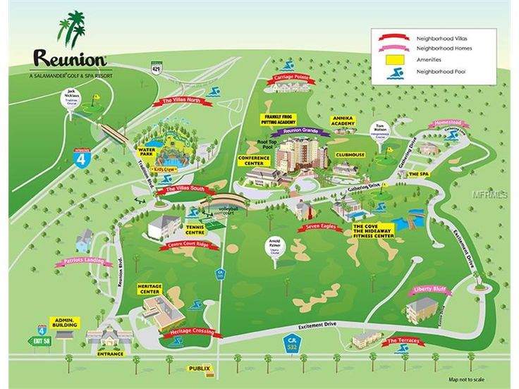 Reunion Resort Is A Family Vacation And Golf Located Near Walt Disney World In Orlando Florida