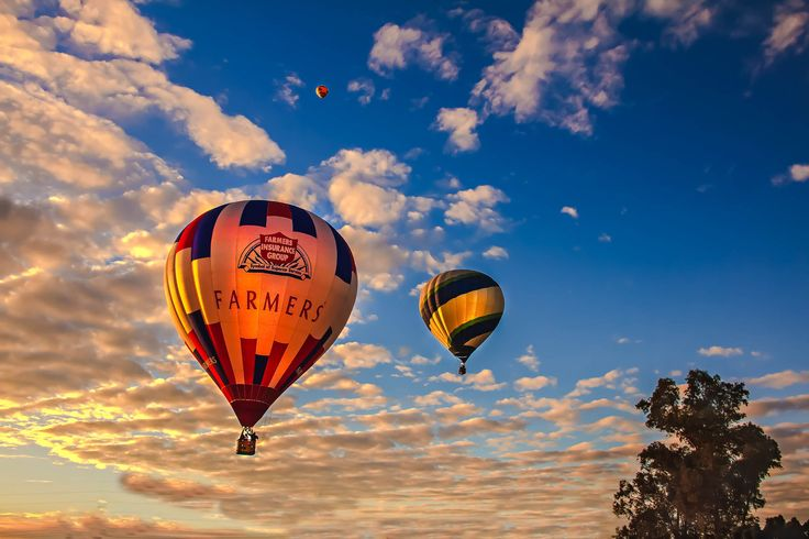 baloon in the sky