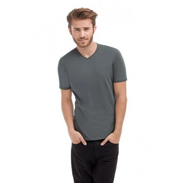 Look Fresh With Fresh Fashion  Stedman Clive V Neck T-Shirt Clive V-Neck T-ShirtST9610• Body Fit T-Shirt• Ringspun Cotton With Elastane• Side Seams• Contrast Neck Tape & Narrow Rib Collar.  Price: £5.13  Read here: http://goo.gl/xOdVCl