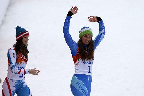 Tina Maze - Winter Olympics: Alpine Skiing