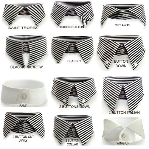 Dress Shirt Collars for Different Face Shapes | Big Tall Shirts | Big Tall Men and Men of All Sizes