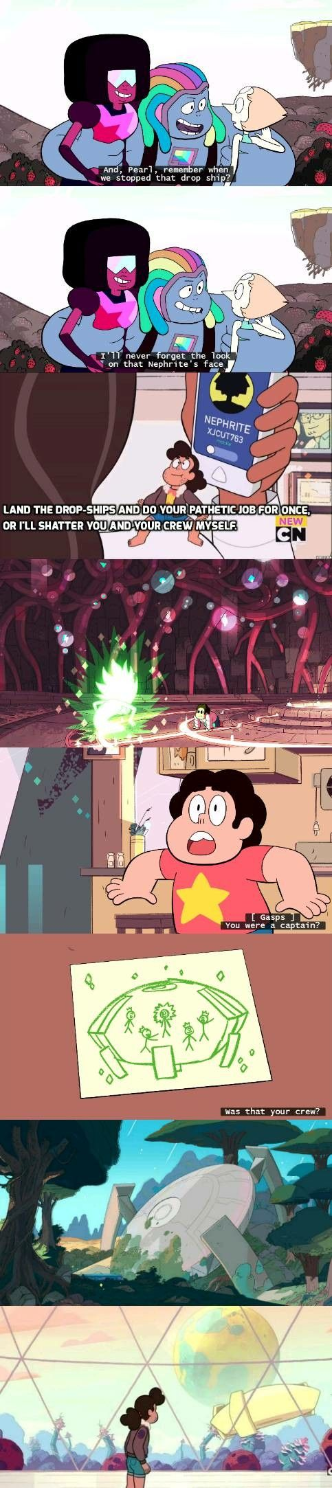 Nephrite = Centi = SERVED FOR YELLOW DIAMOND??? Wait how did ppl not notice on centis drawings theres a yellow gem. So that yellow gem is YELLOW DIAMOND