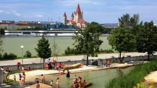 Wasserspielplatz Donauinsel