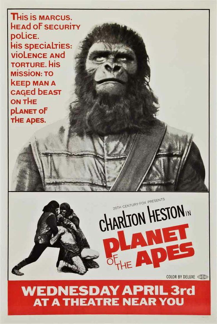 Resultado de imagem para planet of the apes 1968 poster