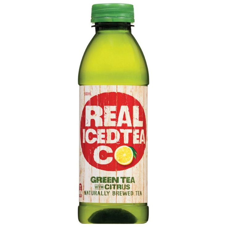 The Real Iced Tea Company which green tea flavor.