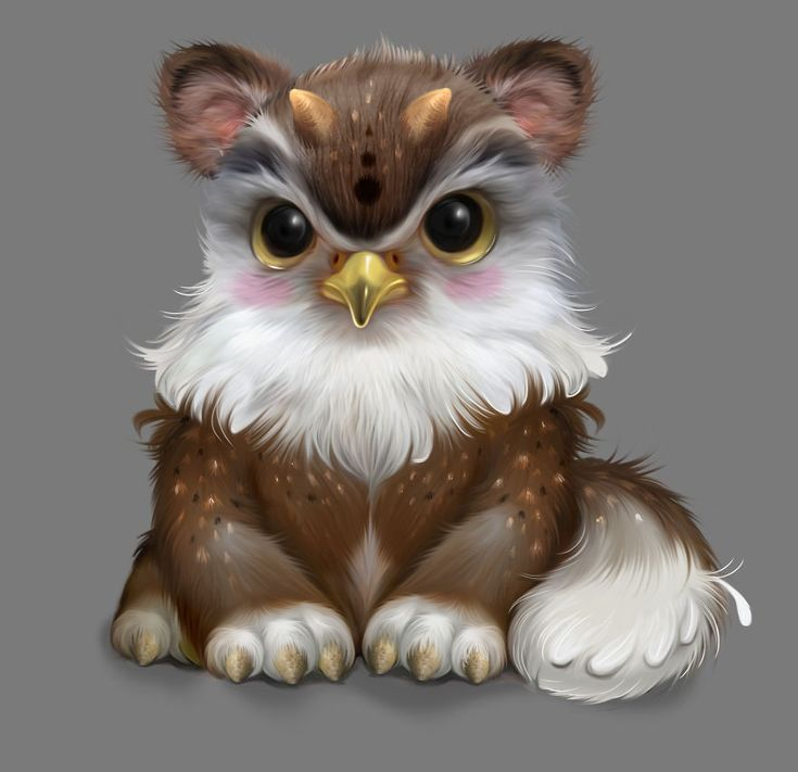 Cute fluffy creatures