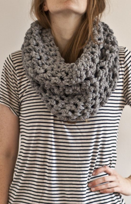 Zpaghetti Jersey Crochet Scarf by Anný Ætiþistillsdóttir   Project   Knitting / Scarves, Shawls, & Cowls   Kollabora #diy #kollabora #knitting #scarf