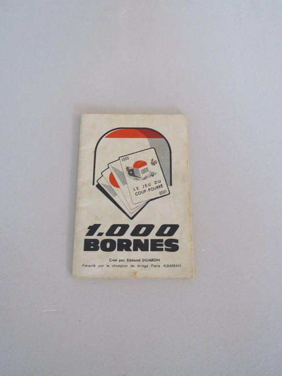 les 46 meilleures images du tableau vintage mille bornes sur pinterest jeux de cartes. Black Bedroom Furniture Sets. Home Design Ideas