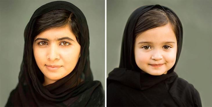 Скаут и Малала Юсуфзай