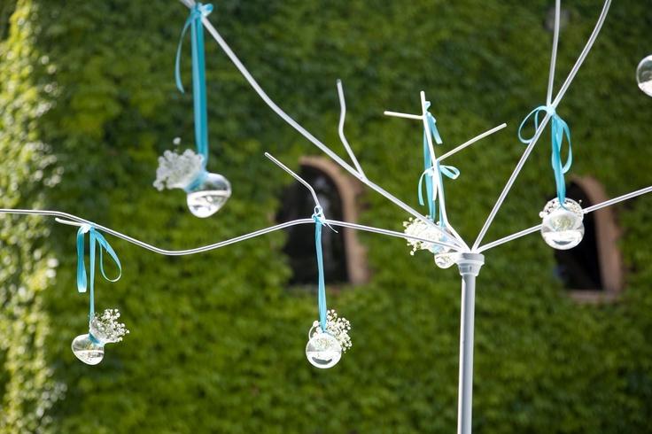 Chiara in Fimoland: Matrimonio in blu tiffany - Blue Tiffany Wedding