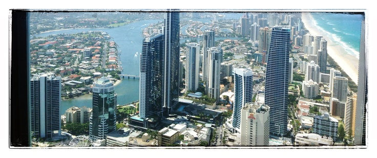 Surfers Paradise from Q1 tower