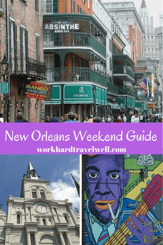 A few highlights of things to do in New Orleans!
