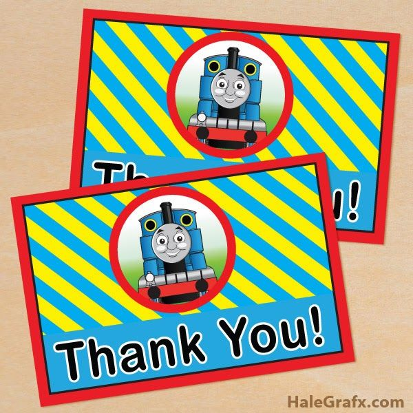 The best FREE Thomas The Tank Engine Party printables available for download via Halegrafx Please click the links via text to go directly to…
