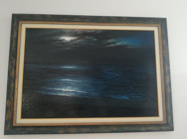 sea painter antonella natalis www.superfluonecessario.it ART