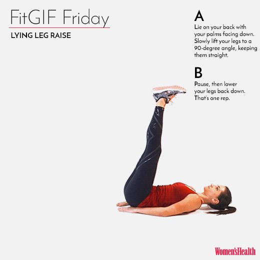 This Move Will Sculpt The Lower Abs Of Your Dreams  http://www.womenshealthmag.com/fitness/fitgif-friday-lying-leg-raise