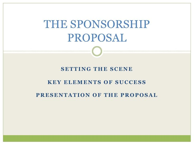 7 best sponsorship proposal images on Pinterest Marriage - how to write a sponsorship letter template