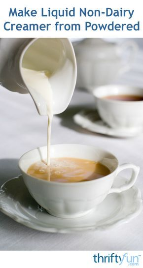 Save money by making your own coffee creamer. Learn how to make liquid non-dairy creamer from powdered in this guide.