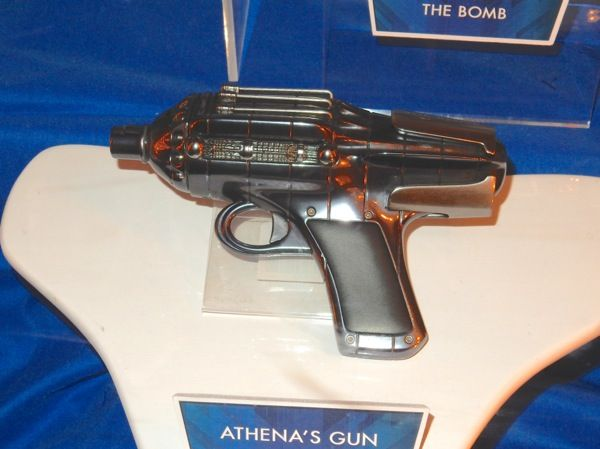 Athena's gun Tomorrowland film prop