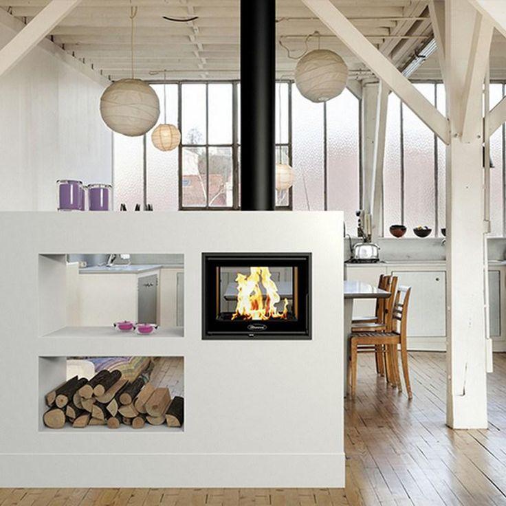 Más de 1000 ideas sobre chimeneas modernas en pinterest ...