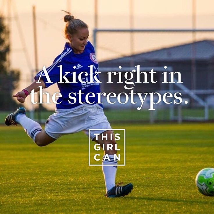 Who else is smashing stereotypes? Share the pics of yourself in action using the #ThisGirlCan app! Use your mobile or tablet to get started.