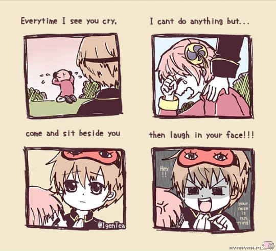 OkiKagu - everytime I see you cry