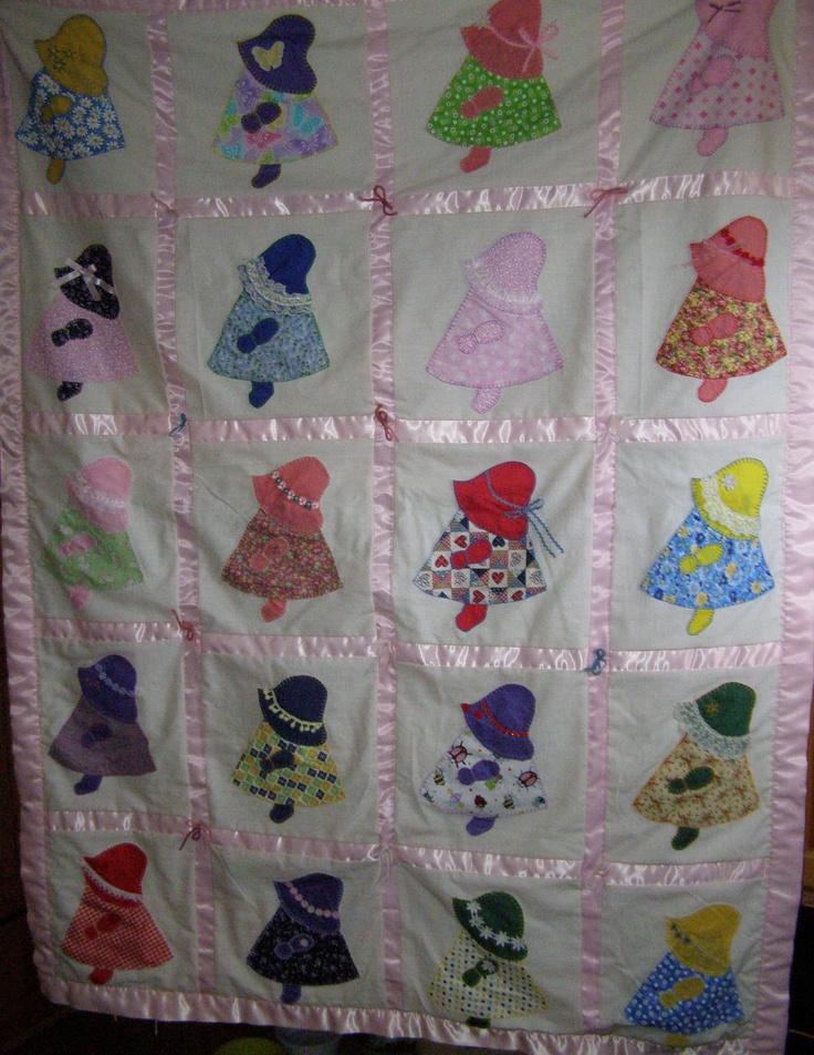 95 Best Sunbonnet Sue Quilts Images On Pinterest