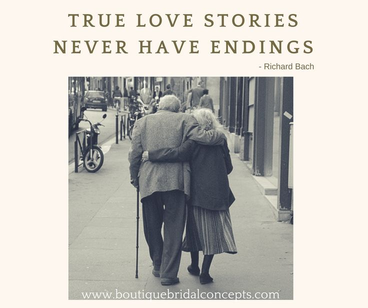 True love stories never have endings.