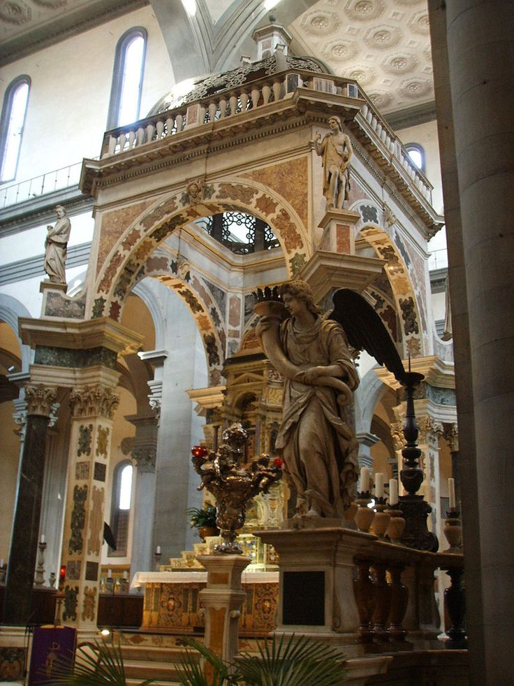 Santo spirito, altare maggiore - Category:Santo Spirito (Florence) - Interior - Wikimedia Commons